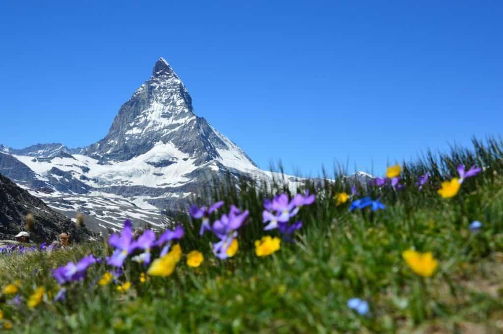 The Matterhorn in Switzerland - natural world wonders.