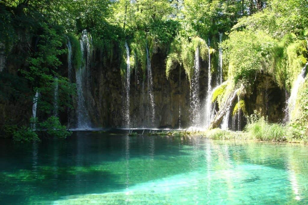 Natural world wonders Plitvice Lakes National Park Croatia