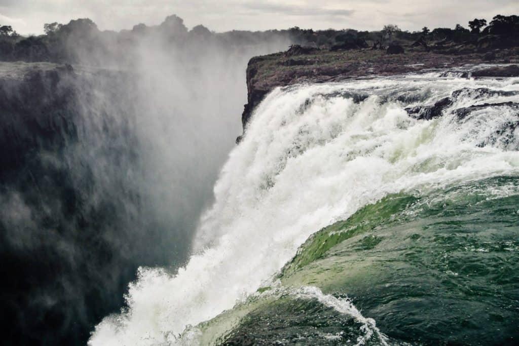 Victoria Falls natural world wonders