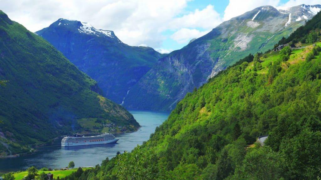 Norwegian Fjords Natural World Wonders