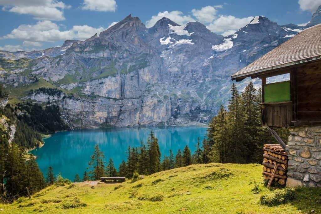 The Swiss Alps natural world wonders