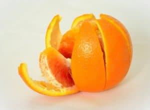 Fruit peels natural fertilizer.